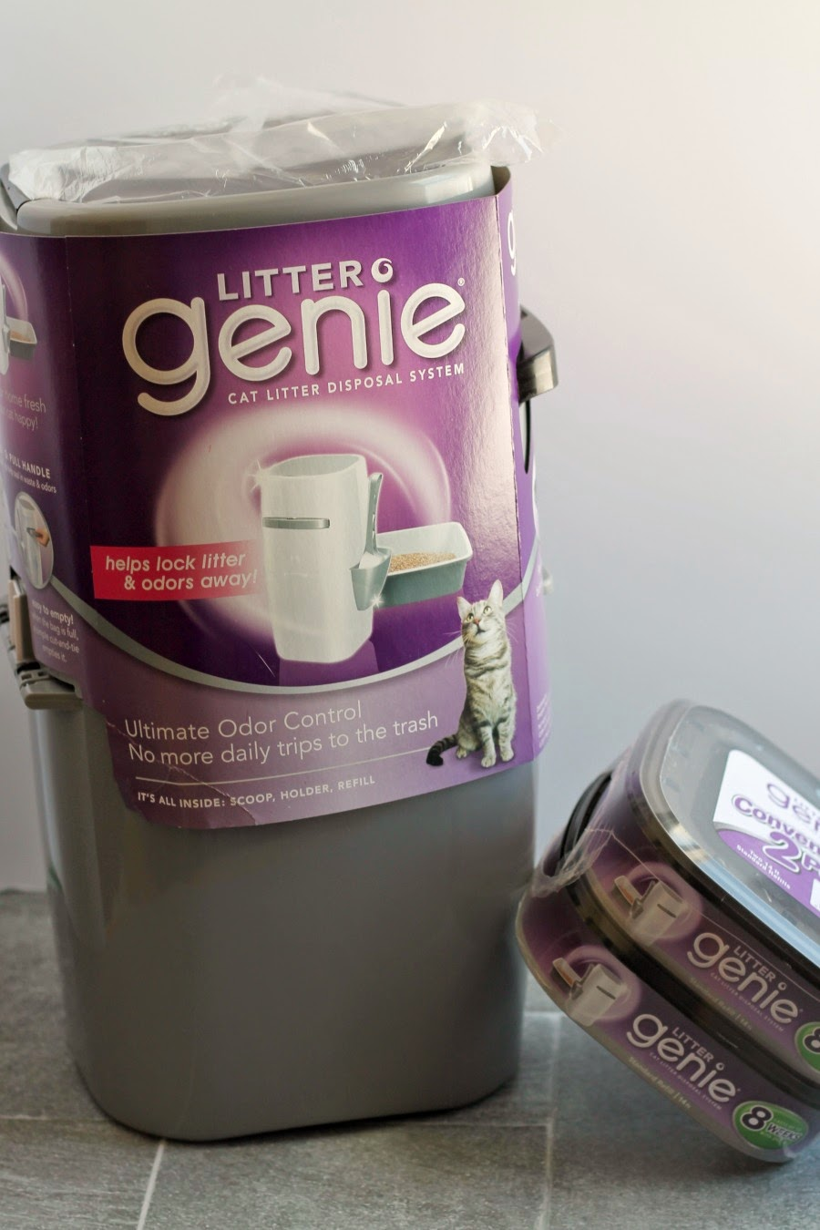 Granting Kitty Wishes with the Litter Genie- plus a special offer from Target on your Litter Genie purchase! #CatParents #Pmedia #ad