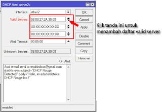 Valid DHCP Server