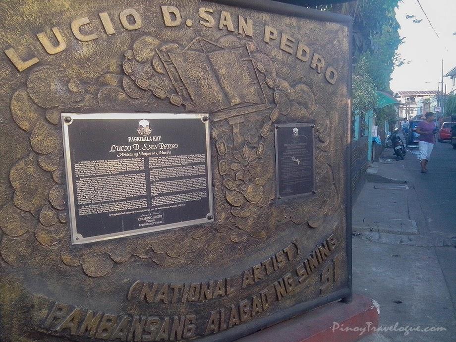 Lucio San Pedro's citation as National Artist