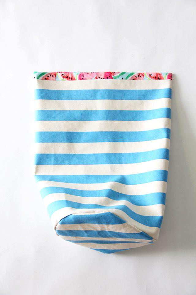 el yapımı ipli plaj çantası