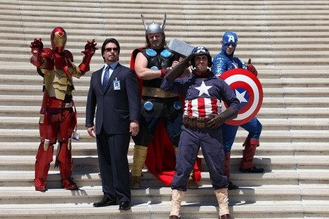 avengers assemble!c cosplay