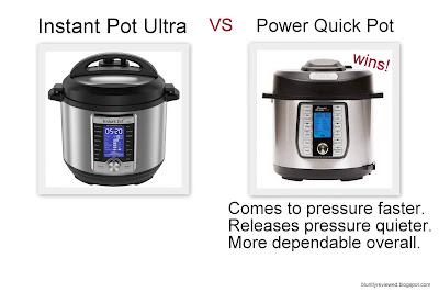 Power Quick Pot is better than Instant Pot Ultra.