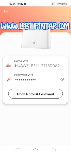 cara merubah nama password sandi wifi telkomsel orbit