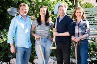 Alan Titchmarsh David Domoney, Katie Rushworth and Frances Tophill