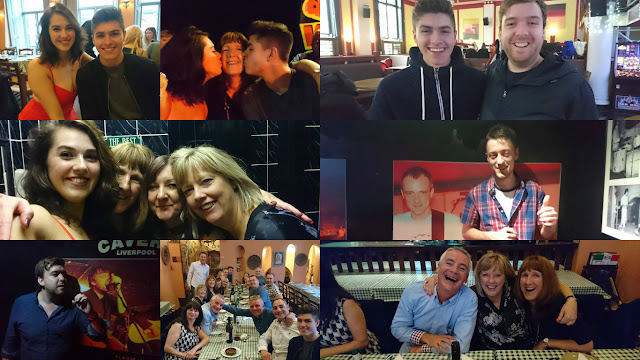Friends and family collage