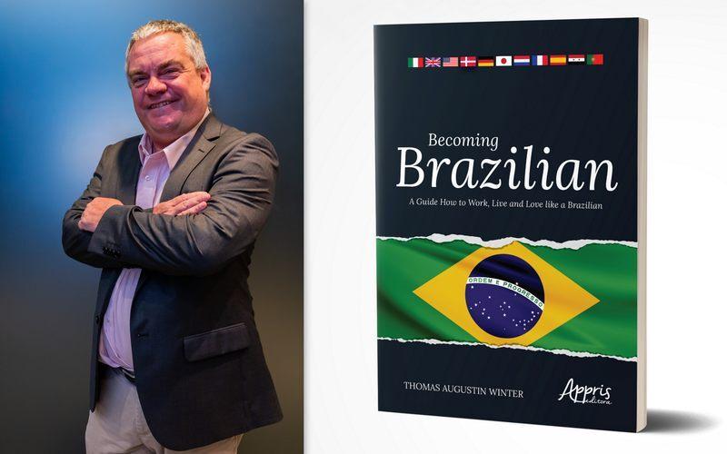 """""""Finalmente eu amo o Brasil, meus filhos cresceram aqui e agora tenho meu RG"""". São com palavras de orgulho e satisfação de quem vive no Brasil há mais de 20 anos, que o autor Thomas Augustin Winter acaba de lançar o livro """"Becoming Brazilian"""", que retrata o que é o Brasil para expatriados que precisam fazer negócios por aqui."""