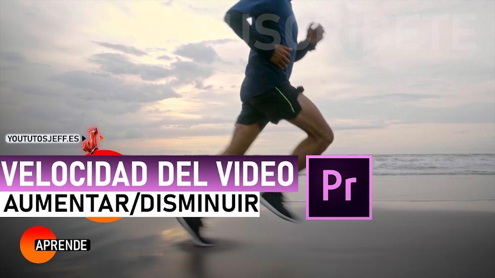 Como AUMENTAR y REDUCIR la VELOCIDAD de un Video Premiere Pro