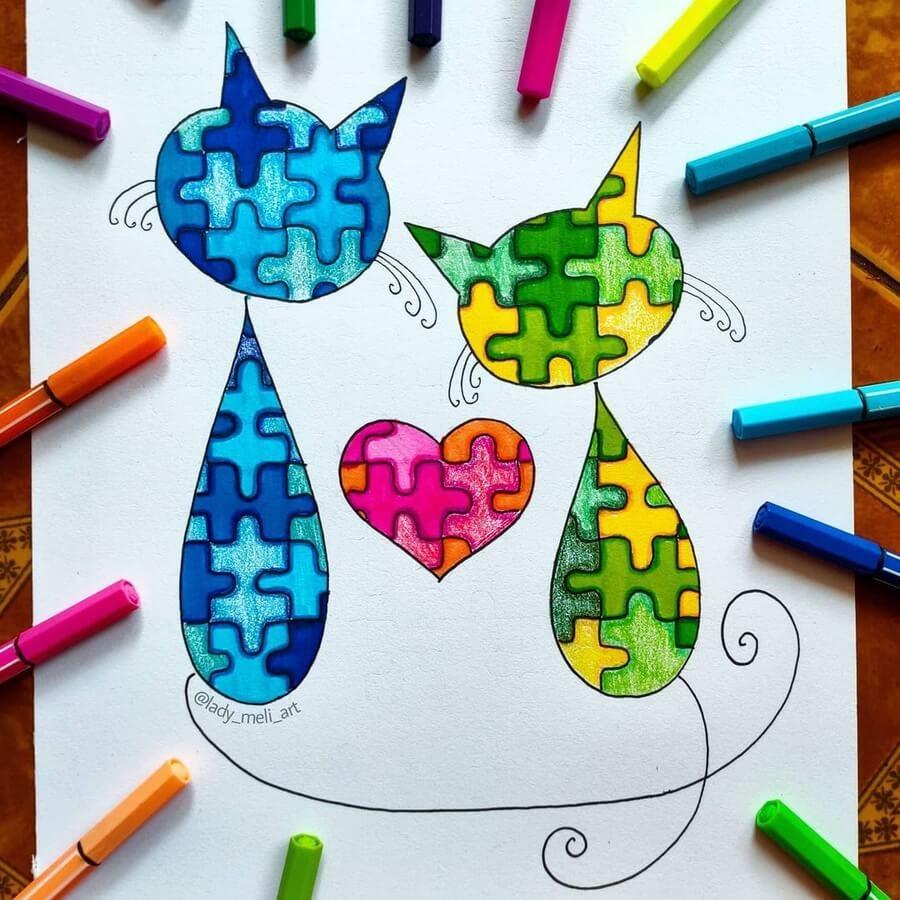 01-Cats-in-love-lady_meli_art-www-designstack-co