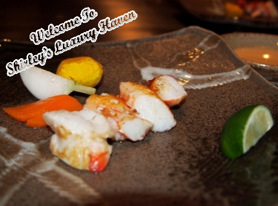 ginza hama steak house king crab
