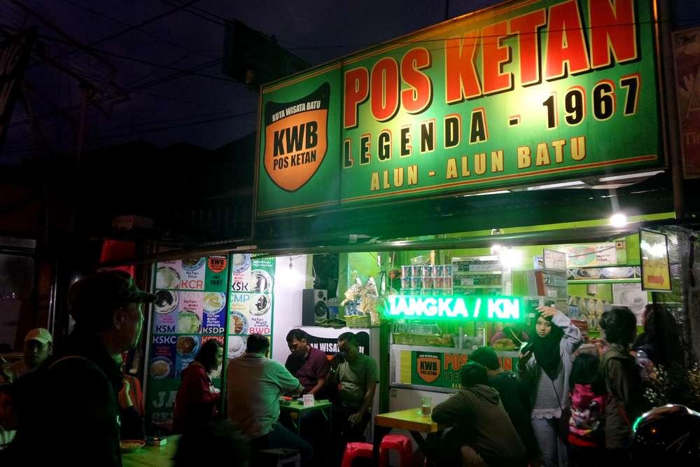 Pos Ketan Legenda Malang (jalanjalanyuk.com)