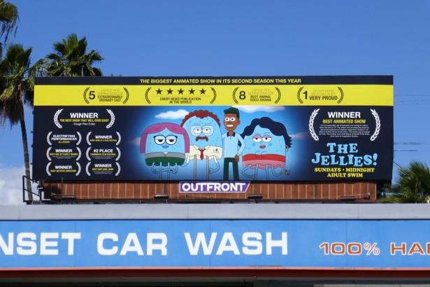 Jellies season 2 faux awards billboard