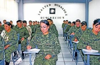 Invitan a mujeres mexiquenses a sumarse al ej rcito for Noticias del espectaculo mexicano del dia de hoy
