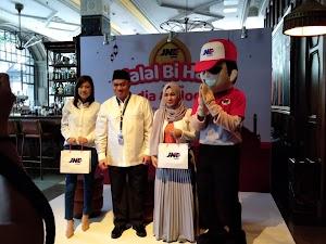 Keseruan Event Halal Bi Halal JNE Di Sofia Gunawarman Jakarta