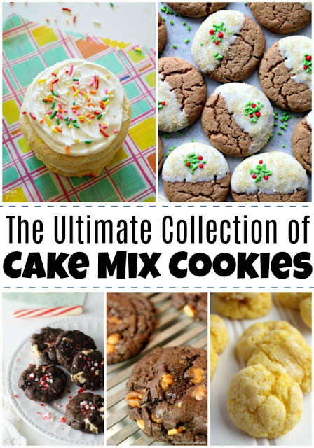 Did you know you could make really easy and fun cookies with a cake mix? Here are some of the absolute best cake mix cookie recipes on the internet!