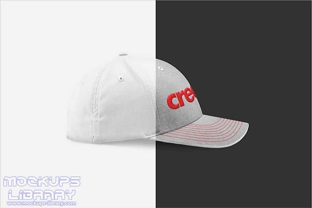 Full Cap Mockup Design