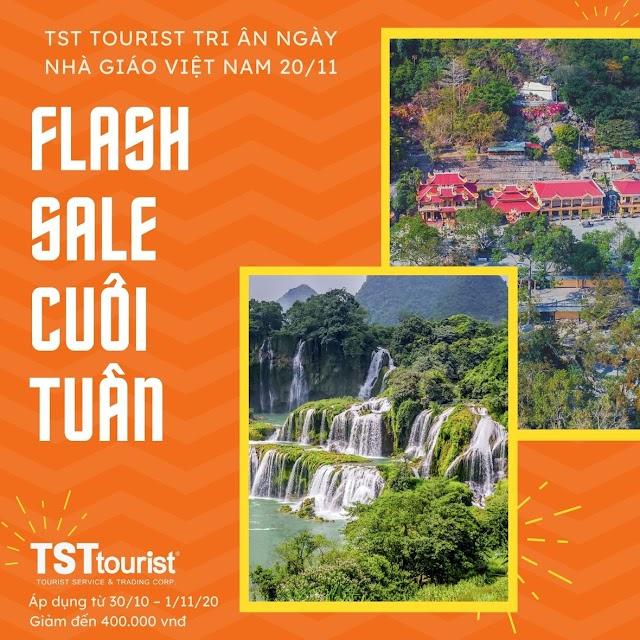 TST Tourist tôn vinh ngày nhà giáo Việt Nam 20/11