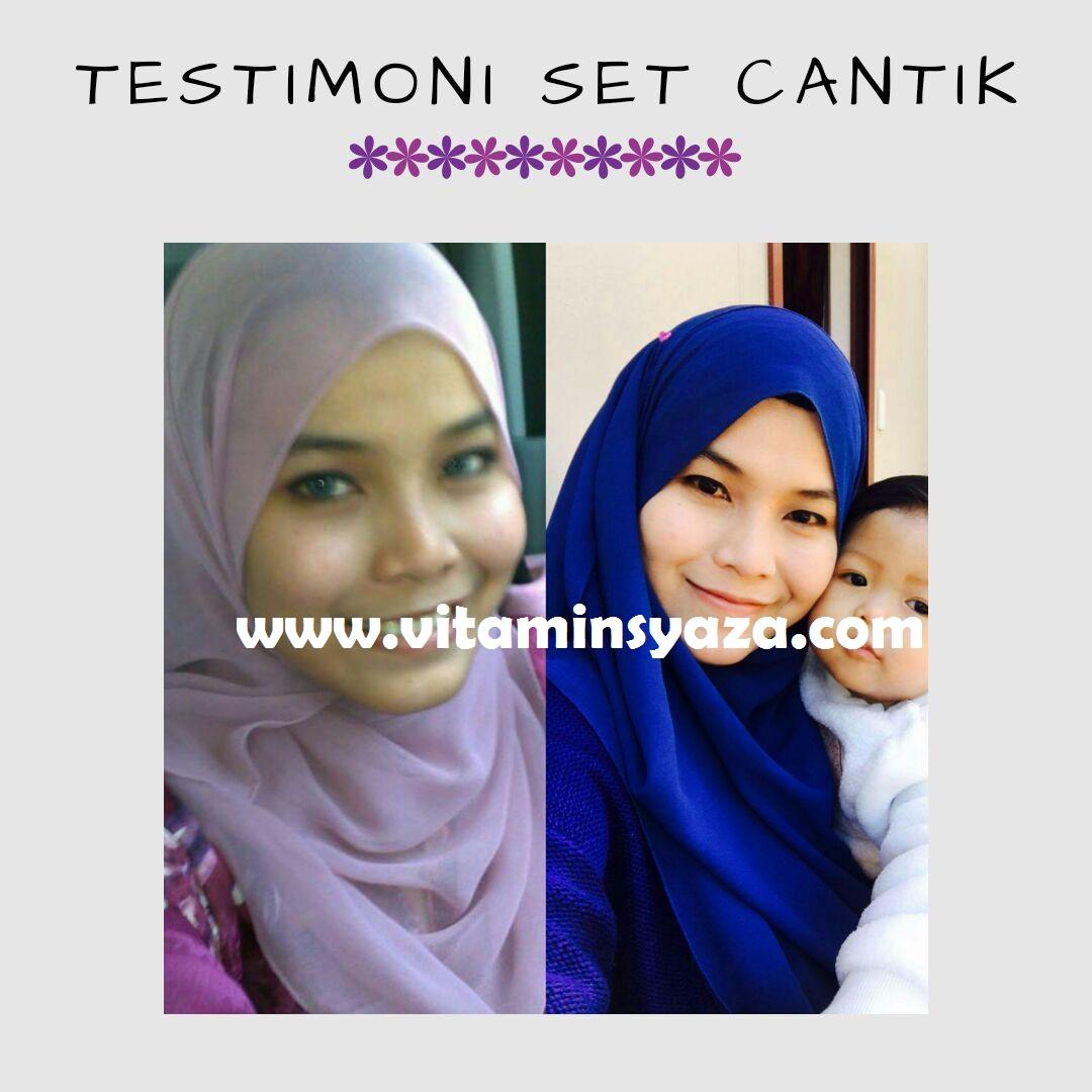 testimoni set cantik shaklee
