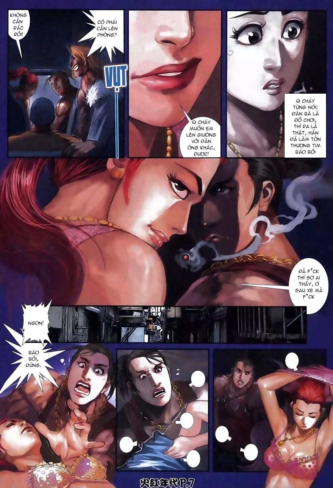 Hỏa Hồng Niên Đại Hắc Cốt Đường Chap 113 - Trang 3