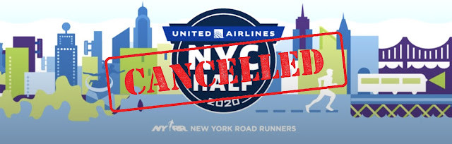 United NYC Half 2020 cancelled