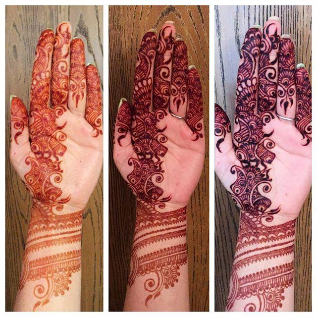 Simple tricks to get dark Henna/Mehendi color