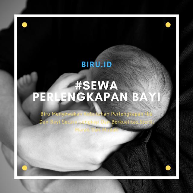 Alasan sewa perlengkapan bayi di biru.id