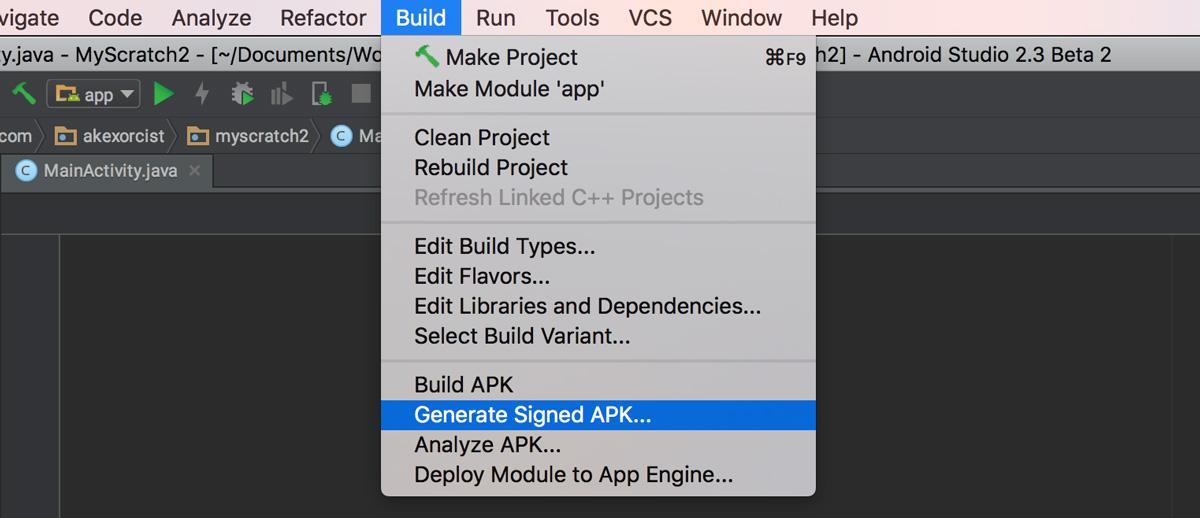 Android Dev Tips] วิธีการสร้าง Keystore บน Android Studio ~ Sleeping