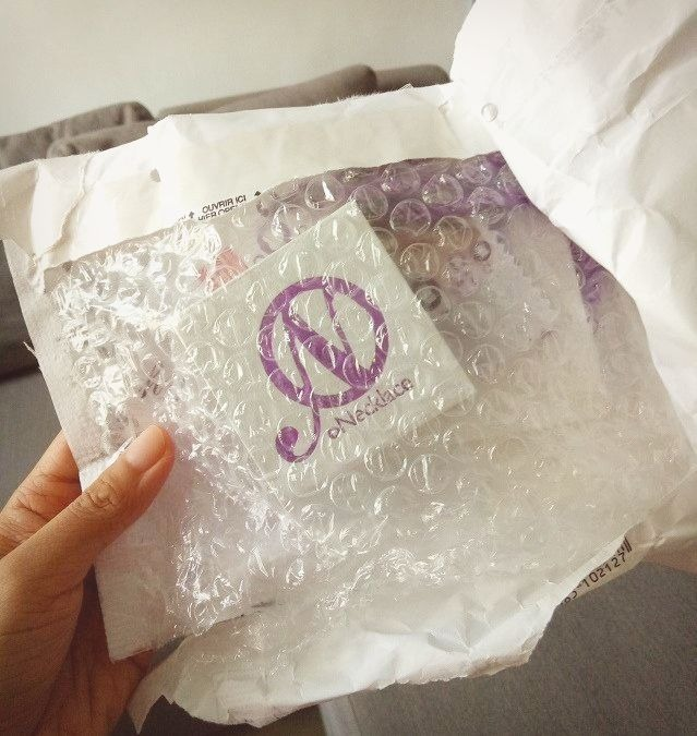 oNecklace package