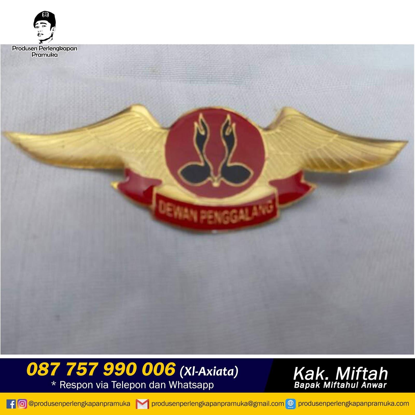 Grosir Wing Pramuka Penggalang | Jual Wing Pramuka Penggalang | Produksi Wing Pramuka Penggalang