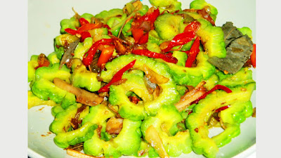 resep masakan sehari-hari,resep sayur pare cumi asin,Food,resep masakan rumahan,