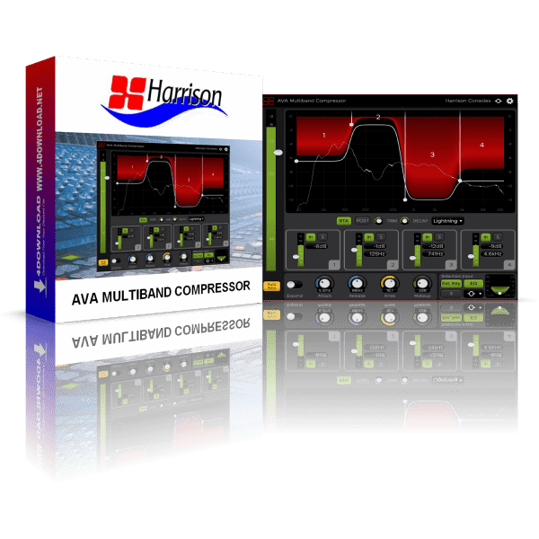 Harrison AVA Multiband Compressor v2.0.1 Full version