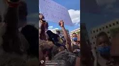 بالفيديو..جماعة الموريش تحمل أعلام مغربية في تظاهرات أمريكا ضد العنصرية