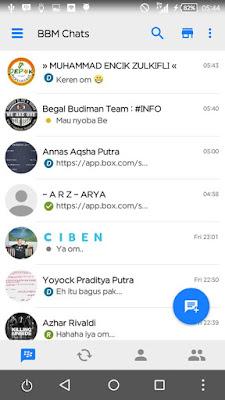 BBM Mod Iphone 2.13.1.13 Terbaru