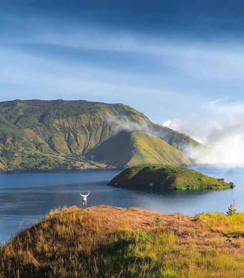 Pulau Tulas, Surga Tersembunyi Keindahan Danau Toba