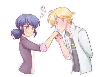 عاشق يقبل يد حبيبته