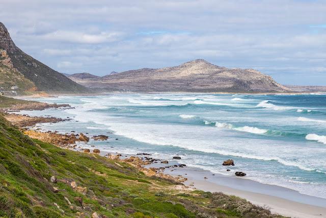 Vistas desde Witsand, Península del Cabo, Sudáfrica