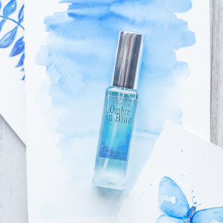 Ombre in Blue Perfume by Wylde Ivy Watercolor Collection