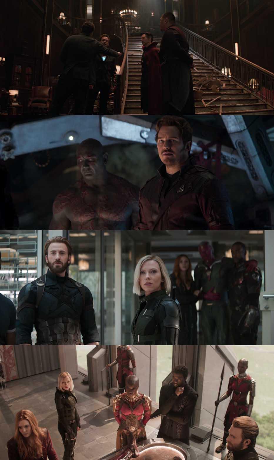 Avengers Infinity War 2018 Dual Audio Hindi 720p BluRay 1.4GB Desirehub