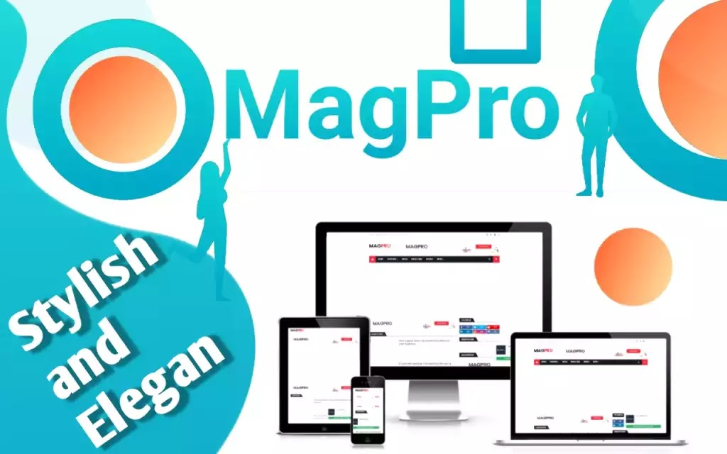 [Download] MagPro - Responsif Template Blogger, Modern dan Ramah Adsense