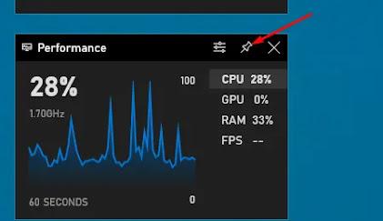 طريقة عرض عدد الفريمات FPS في ويندوز 10