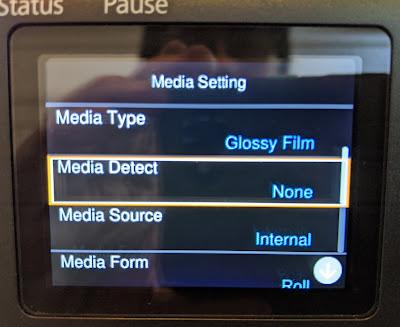C6000 Media Detect