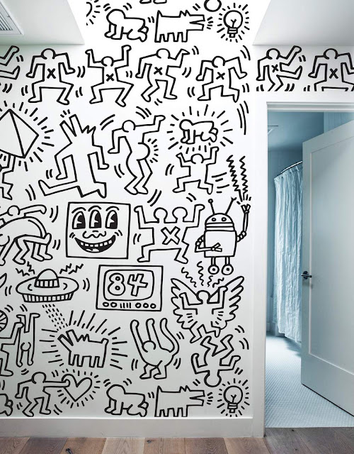 Stickboutik.com - Keith Haring wall stickers - Symbols Wall tiles