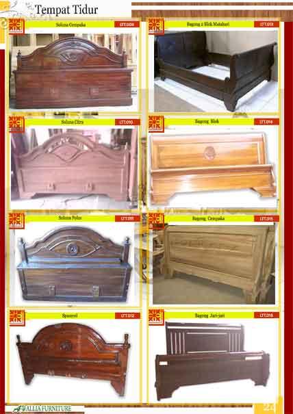 Tempat tidur klender kayu jati 3