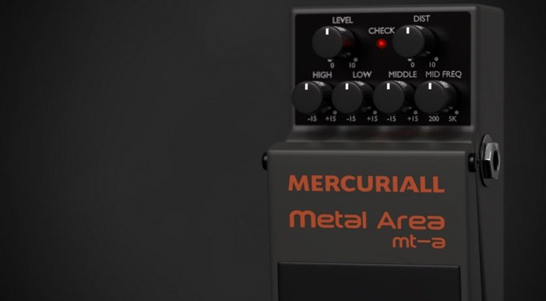 Metal Area Mecuriall
