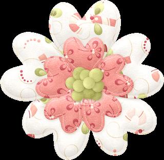 Flores del Clipart Tierna Navidad.