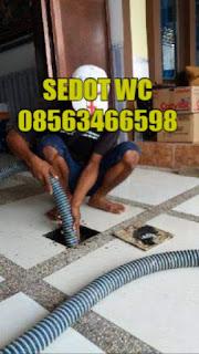 Sedot WC Jalan Ronggolawe Surabaya