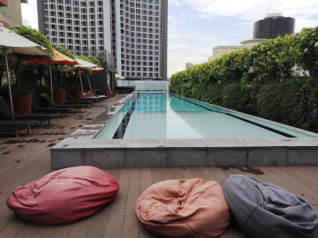 M Social - poolside