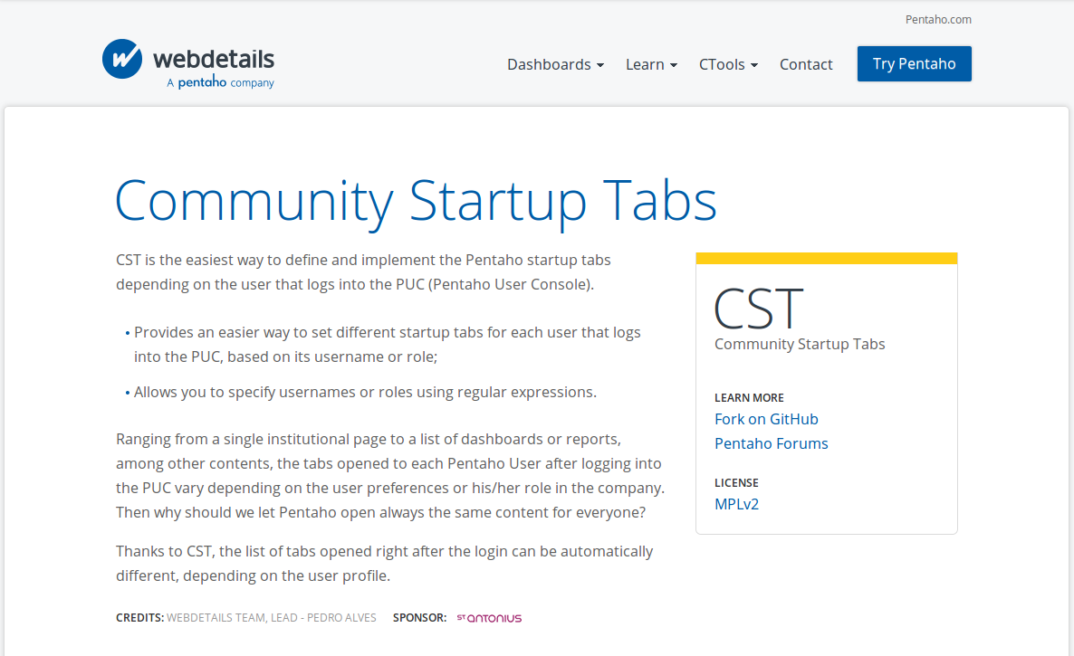 cstHome CST   Community Startup Tabs (Revamped)