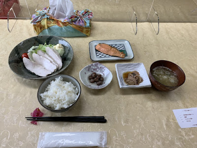 民宿たんぽぽの朝食