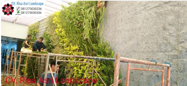 Vertical garden kami merupakan perusahaan kontraktor greenwall No.1 di Indonesia yang telah lebih dari 10 tahun bergerak dalam Industri vertical ...Lanjutkan Membaca......  JASA PEMBUATAN TAMAN VERTIKAL ( VERTICAL GARDEN ) SURABAYA