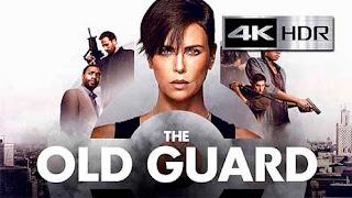 La vieja guardia (2020) Web-DL 4K UHD [HDR] Latino-Castellano-Ingles